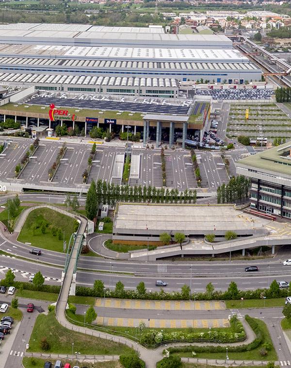 Estimation retail parks et centres commerciaux